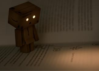 lesen im dunkeln