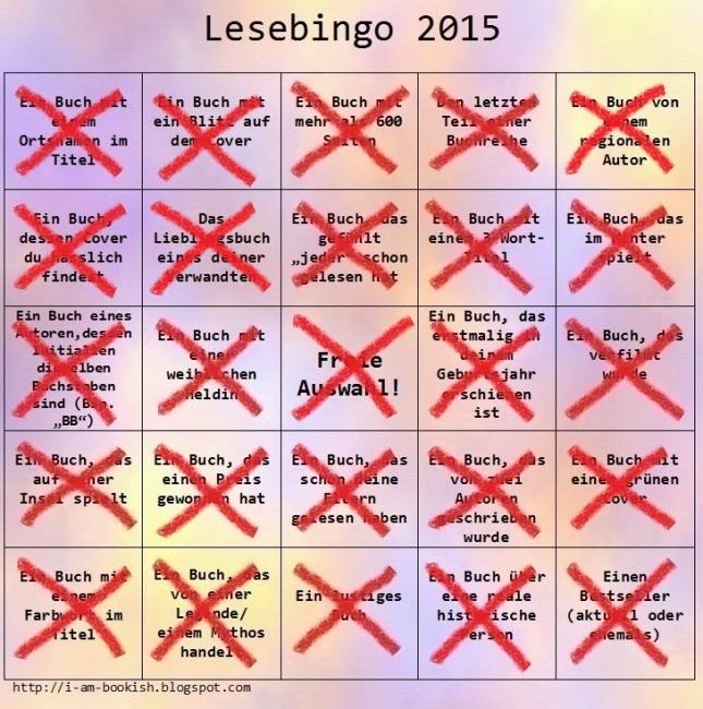 Lese-Bingo 2015 von Caroline - 25 von 25