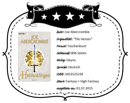 2015-07-01 - Abercrombie - Heldenklingen