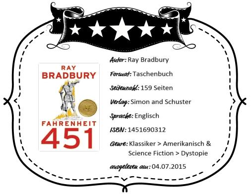 2015-07-04 - Bradbury - Fahrenheit 451