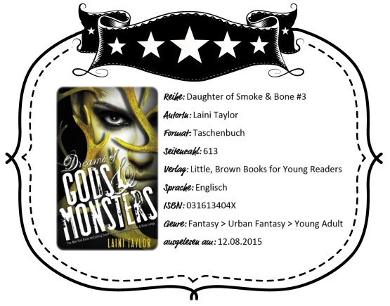 2015-08-12 - Taylor Dreams of Gods & Monsters