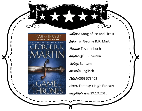 2015-10-29 - Martin A Game of Thrones