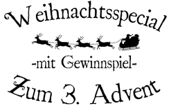 Weihnachtsspecial transparent