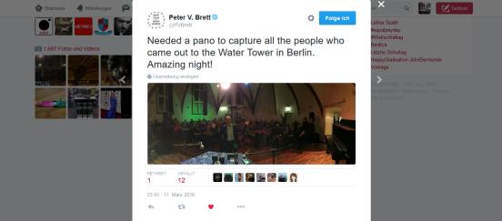 Peter Selfie Twitter