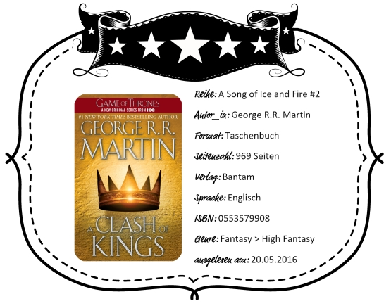 2016-05-20 - Martin A Clash of Kings