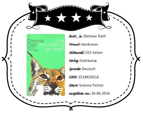 2016-06-26 - Dath Die Abschaffung der Arten