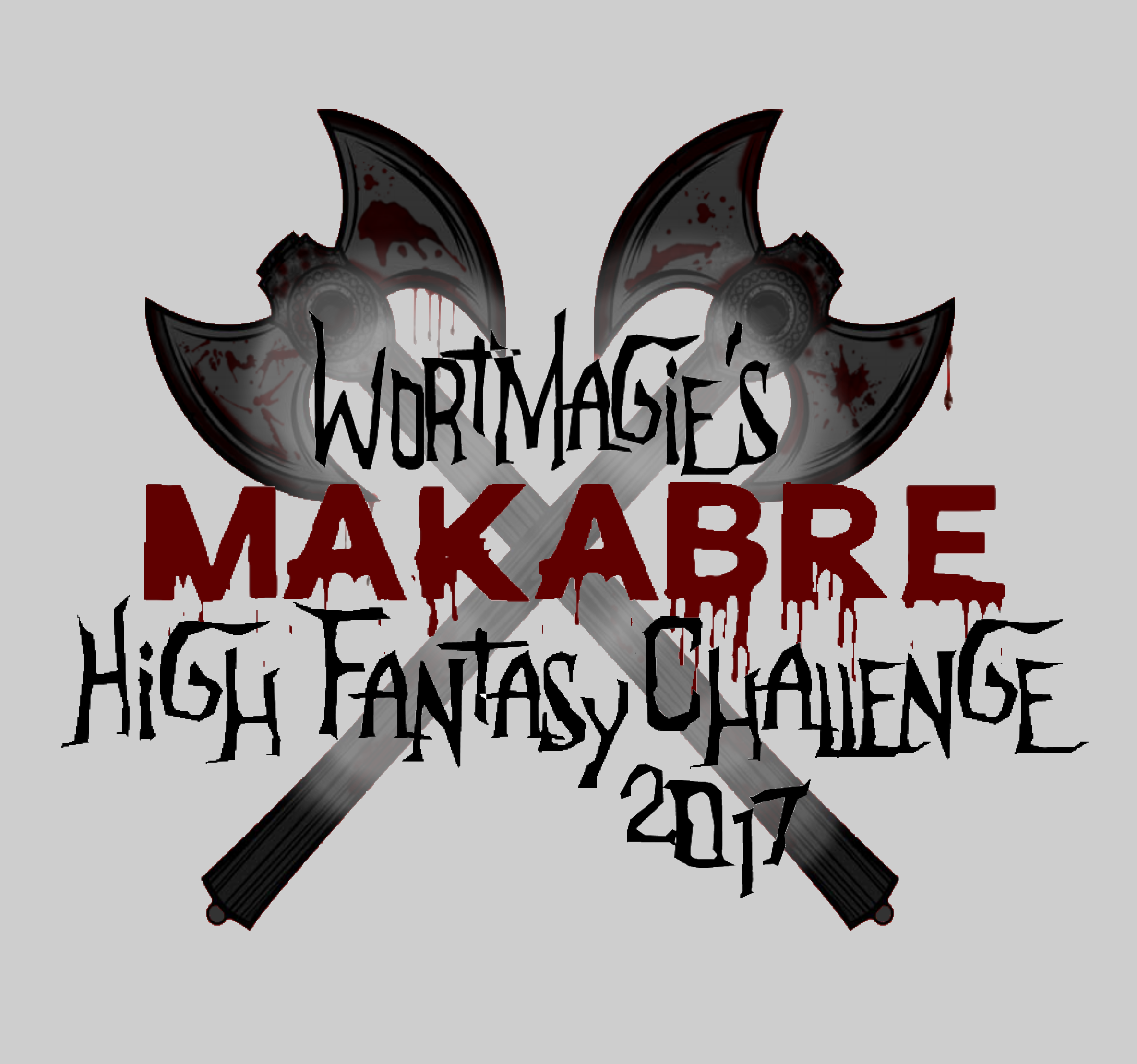 Wortmagie's makabre High Fantasy Challenge 2017