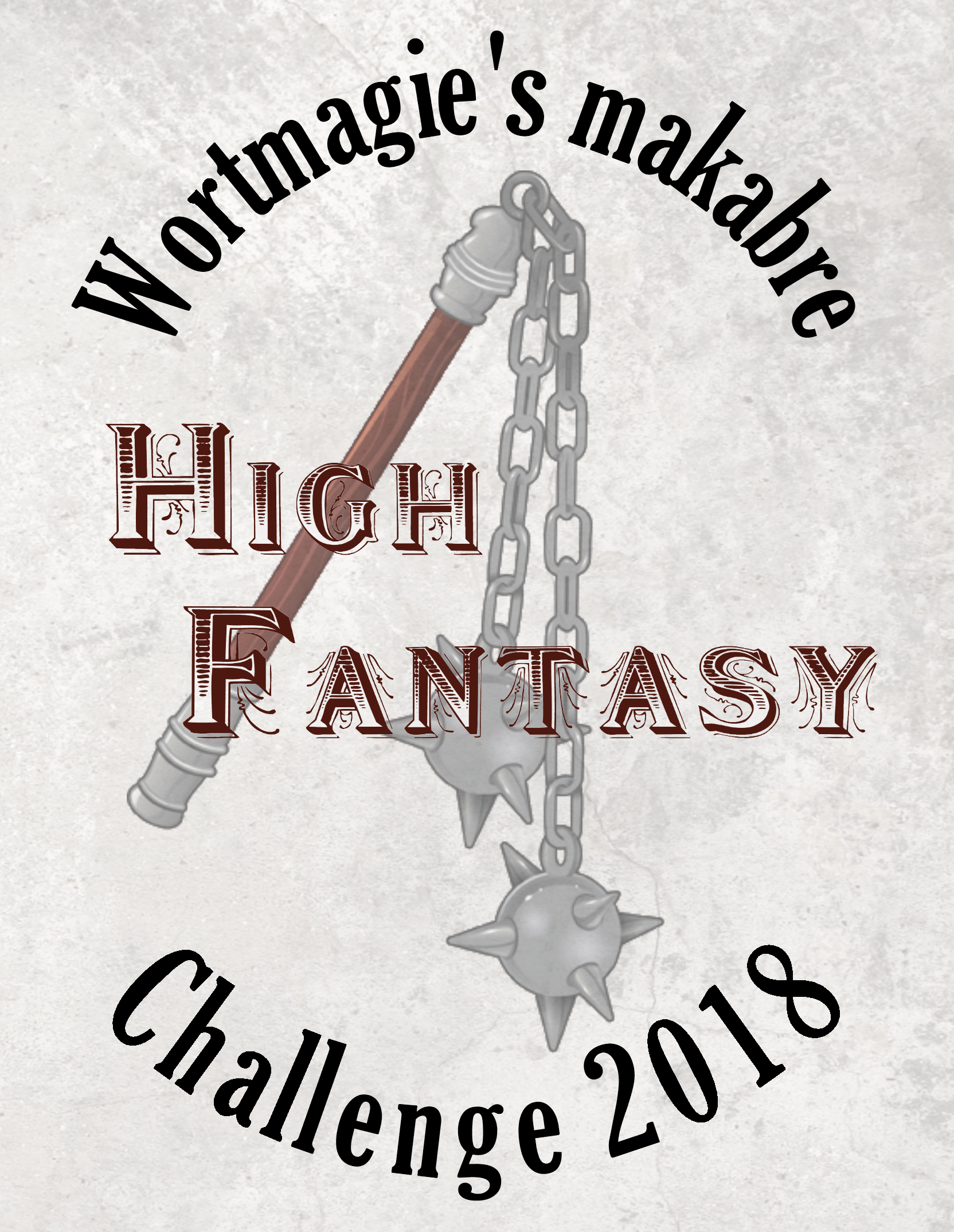 Wortmagie's makabre High Fantasy Challenge 2018