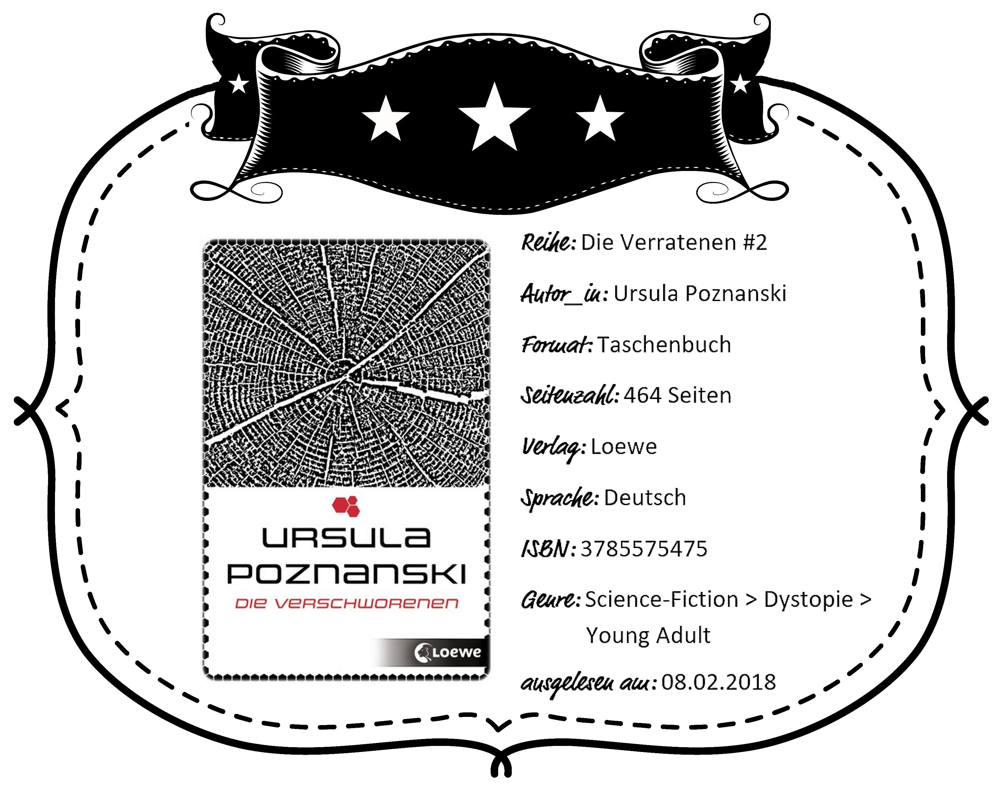 Betrachtet Man Die Liste Der Werke Von Ursula Poznanski, Fällt Die  Dystopische U201eDie Verratenenu201c Trilogie Als Ungewöhnlich Auf.