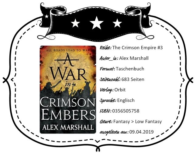 Rezensionsheader A War in Crimson Embers