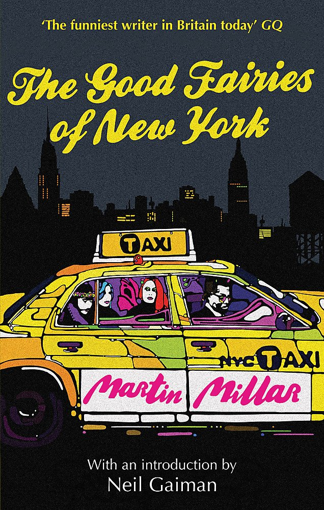 Cover von 'The Good Fairies of New York' von Martin Millar