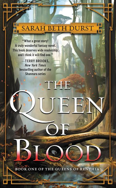 Cover des Buches 'The Queen of Blood' von Sarah Be Durst