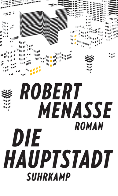 Cover von 'Die Hauptstadt' von Robert Menasse