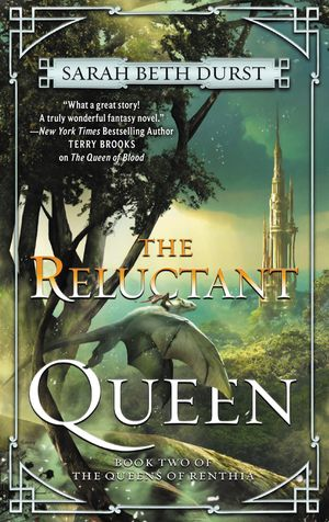 Cover des Buches 'The Reluctant Queen' von Sarah Be Durst