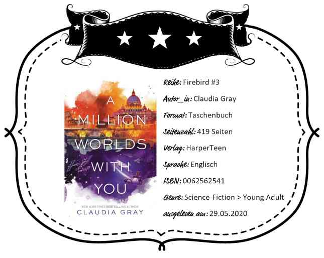 "Rezensionsheader von ""A Million Worlds With You"" von Claudia Gray"