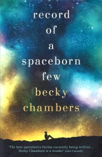 Cover des Buches 'Record of a Spaceborn Few' von Becky Chambers