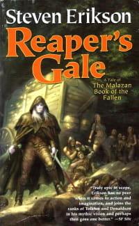 Cover des Buches 'Reaper's Gale' von Steven Erikson