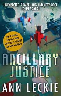 Cover des Buches 'Ancillary Justice' von Ann Leckie